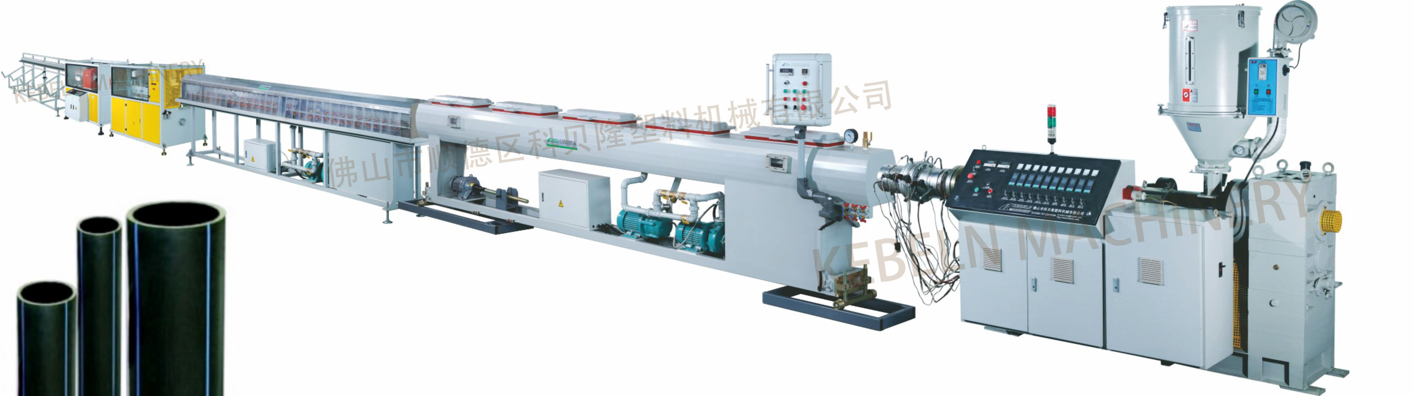 PE/PPR pipe extrusion line